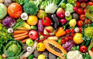 Achten Sie bei Eisenmangel auf eine gesunde und ausgewogene Ernährung